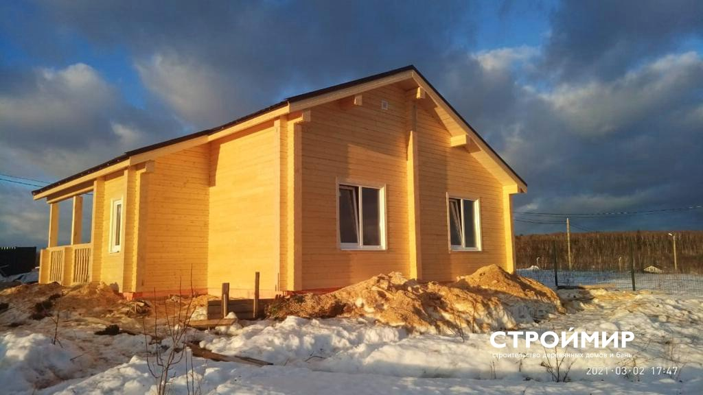 Дом из клееного бруса в Калужской области