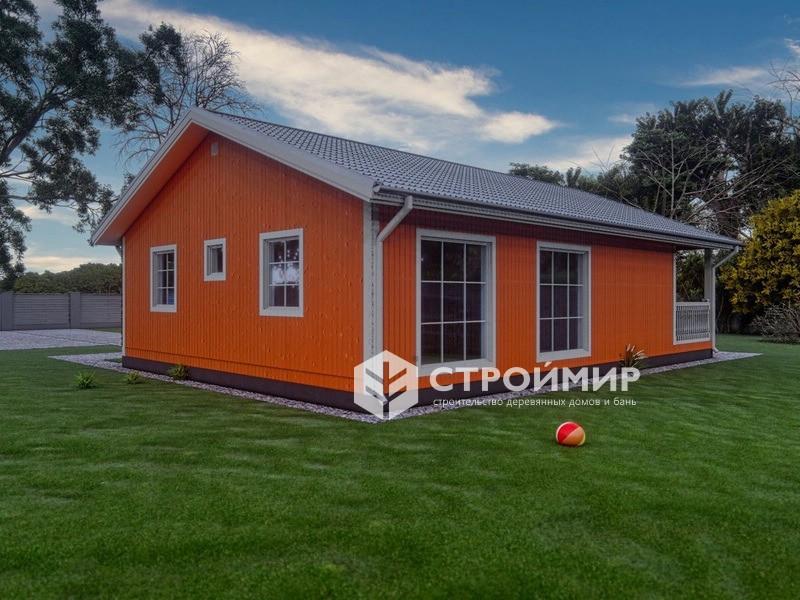 Каркасный дом 8х12.5 проект К-20