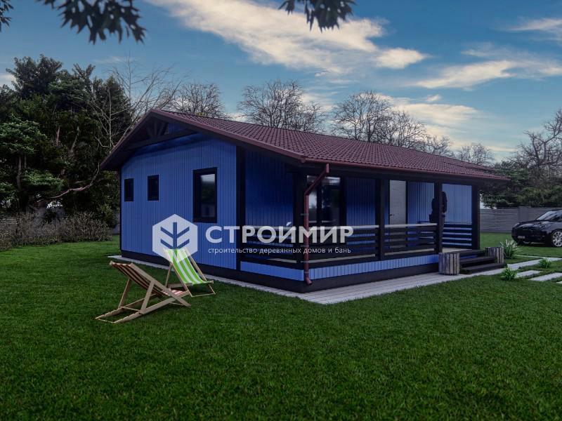 Каркасный дом 9х10,5 (проект К-137)