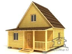 Дом из бруса 6х6