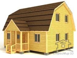 Проект дома 9х7