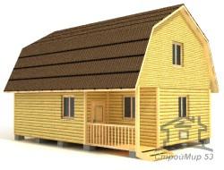 Дом из бруса 9х6