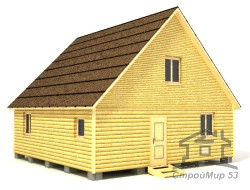 Проект дома 8х8