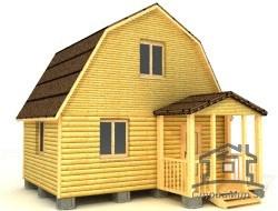 Дом из бруса 4х5