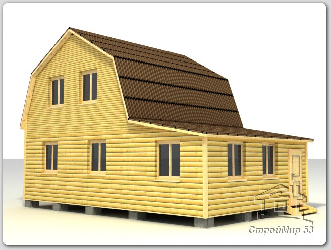 строительство дома 6х9